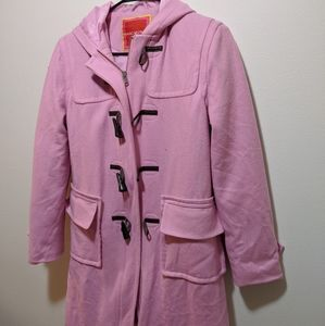 Isaac mizrahi pink coat
